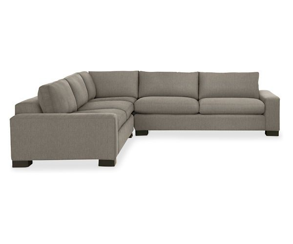 """Room & Board - Townsend L-Shaped Sectional 116x116"""" 