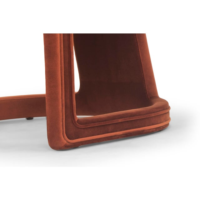Rory Side Chair in Rust | Chairi