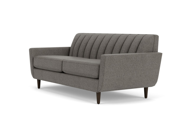 Rory Curved Sofa with Channel Back | Curved Sofa | Ethan All