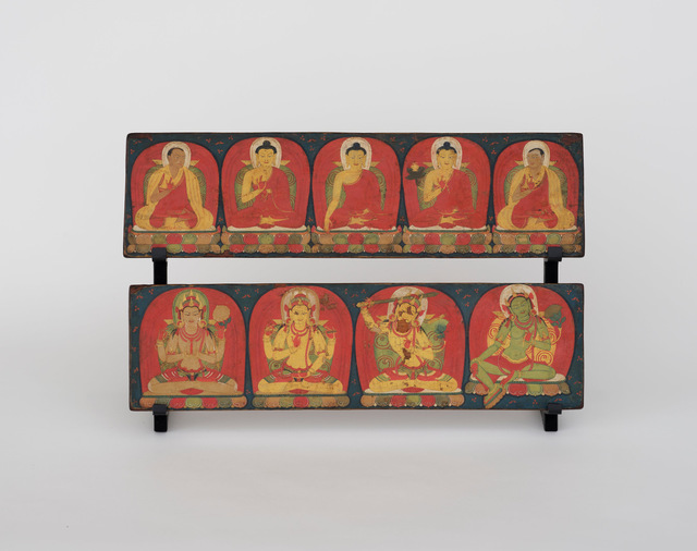 Unknown Tibetan | Pair of book-covers (13th century ) | Available .