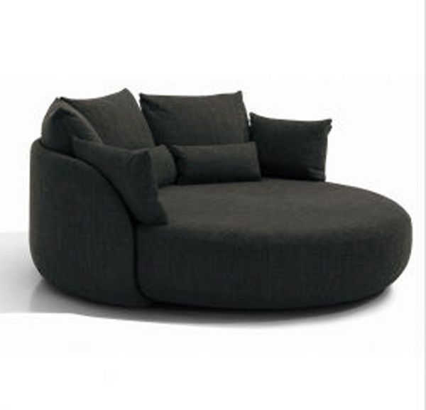 Sit Pretty on Tiamat 200 | Round sofa, Round couch, Lounge cou