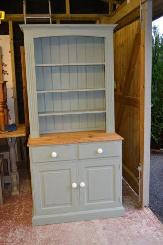 Shabby chic pine welsh dresser in Annie Sloan chalk paint | Shabby .