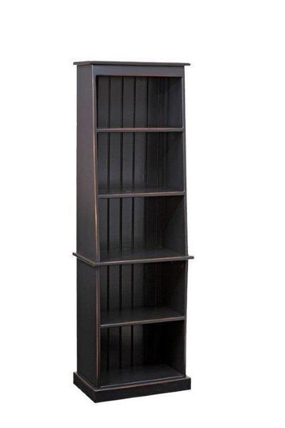Amish Pier Pine Bookcase | Pine bookcase, Amish furniture, Bookca