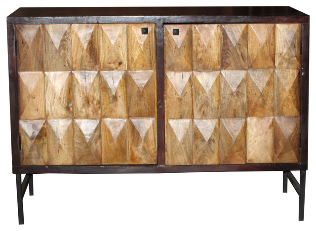 2-Door Buffet Console - Industrial - Buffets And Sideboards - by Mo