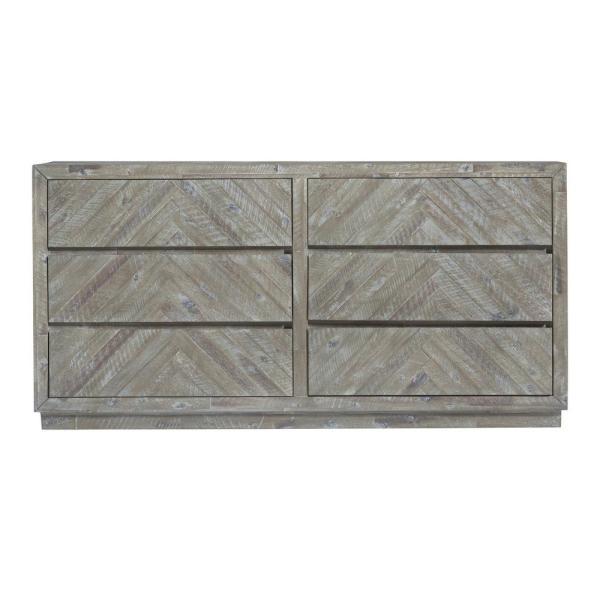 Modus Furniture Hearst 9-Drawer Sahara Tan Dresser 37 in. H x 67 .