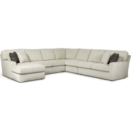 Best Home Furnishings Stationary Sectionals in Logan, Bear Lake .