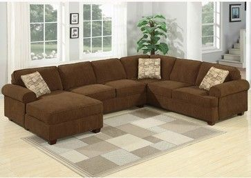 AC Pacific Furniture - Linda Sectional - Lin1882 - traditional .