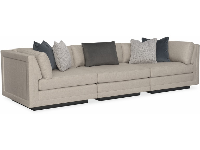Caracole Modern Living Room Fusion 3 Piece Sectional Sofa M050-017 .