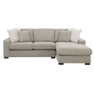 Brahms Reversible Sectional Sofa with Storage, Gray - Sam's Cl
