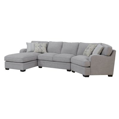 Analiese Sofa Sectional, Linen Gray - Sam's Cl
