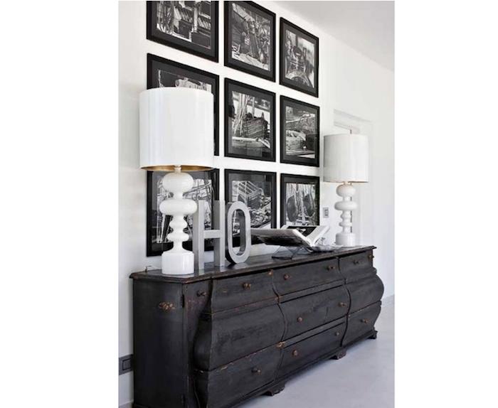 Palette & Paints: Matte Black Painted Furniture - Remodelis