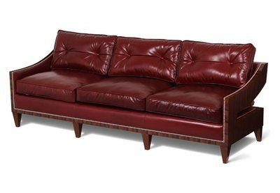 Scarborough House Sofa Upholstery: Red | Contemporary couches .