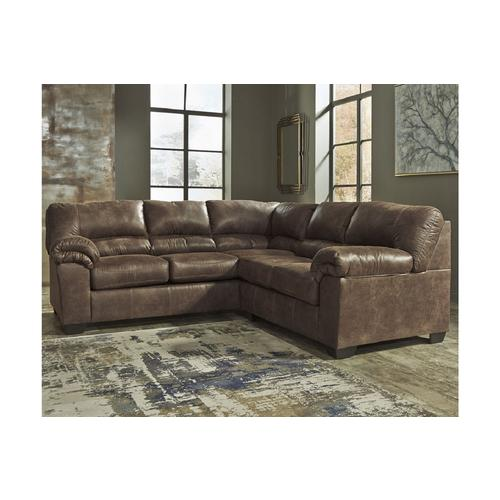 Signature Design by Ashley Bladen 2-Piece RAF Sofa Sectional .