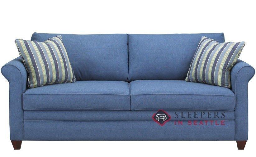 Savvy Denver Queen Sleeper Sofa   Blue sleeper sofa, Sleeper sofa .