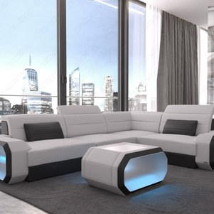 Modern Fabric Sectional Sofa Seattle Led Small Best Sofas Costco .