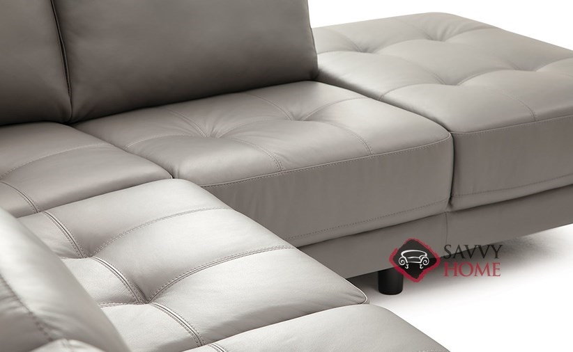 Seattle by Palliser Leather Stationary Chaise Sectional by .