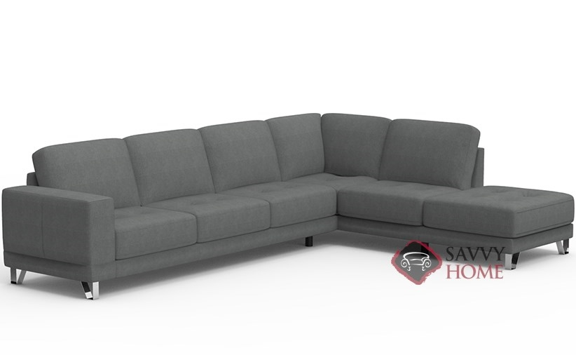 Seattle by Palliser Fabric Stationary Chaise Sectional by Palliser .