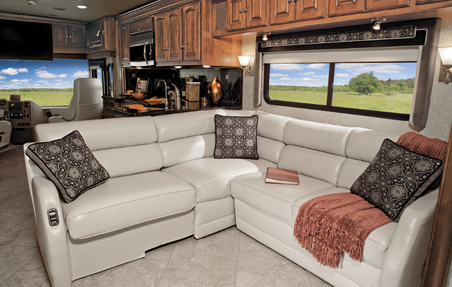 Winnebago RV Features | Extendable Sectional Sofa | Photos | Rv .