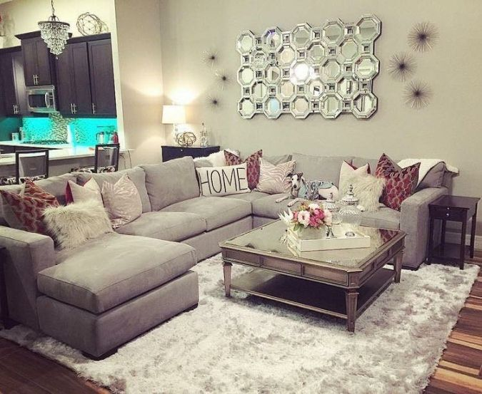 Top Apartment Living Room Ideas With Sectional | Home, Family room .