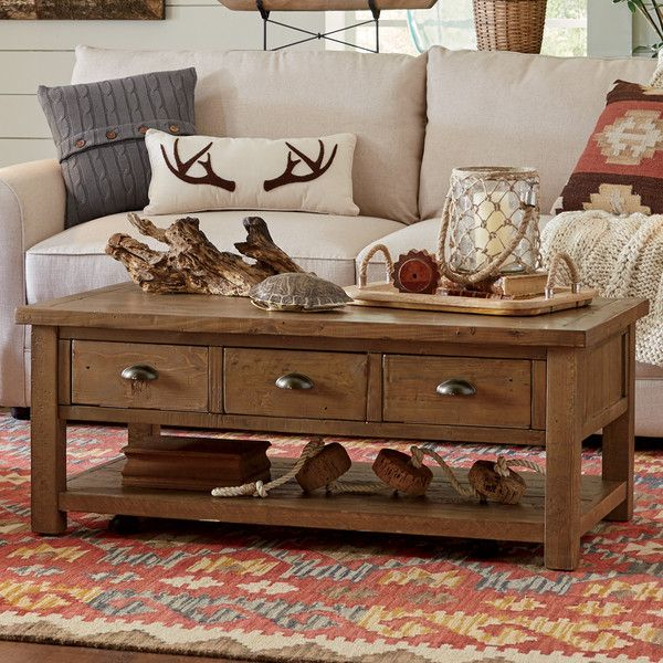 Seneca Coffee Table 48 x 26 | Farm house living room, Coffee table .