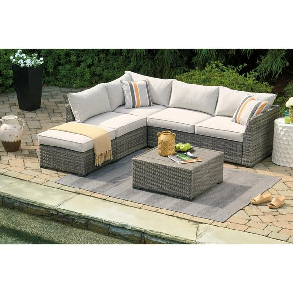 Shelter Island 4-Piece Outdoor Sectional - peter andre