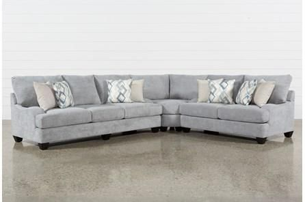 Sierra Foam II 3 Piece Sectional (With images) | 3 piece sectional .