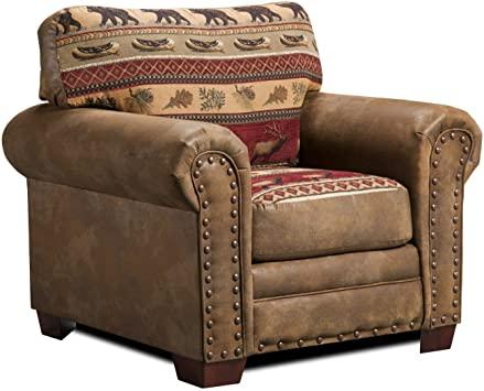 Amazon.com: American Furniture Classics Sierra Lodge Chair .