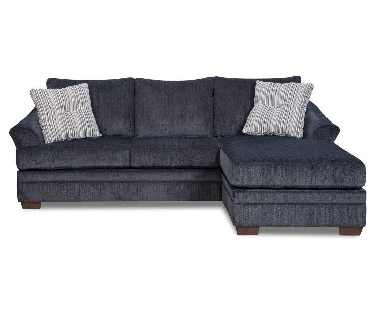 Simmons Judson Slate Sofa Chaise | Slate sofa, Chaise sofa .