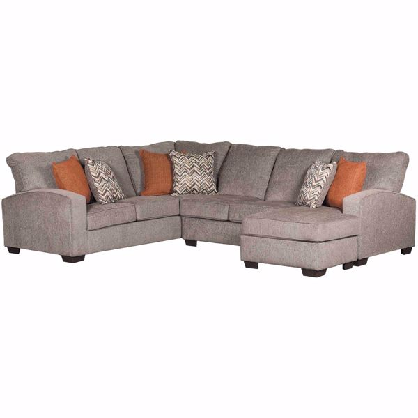 2PC Endurance Sectional w/RAF Chaise | | Simmons Upholstery | AFW.c