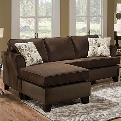 Simmons® Malibu Beluga Sofa With Reversible Chaise at Big Lots .