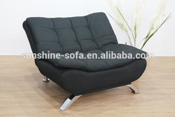 Modern Fabric Single Sofa Bed Cha