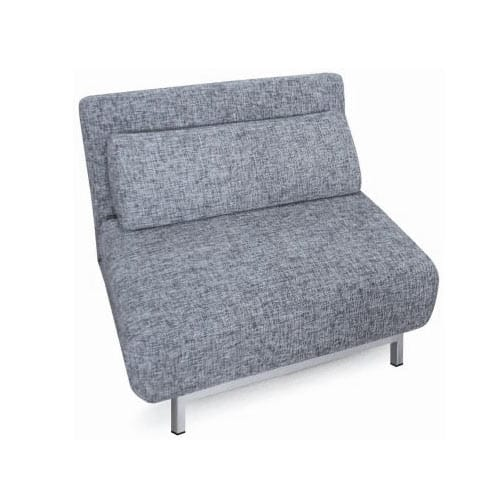 Swivel 04 Gray Single Chair Sleeper by New Sp