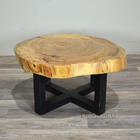 37+ trendy Ideas for tree trunk table base wood slices | Coffee .