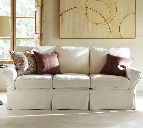 PB Basic Furniture Slipcovers | Pottery Ba