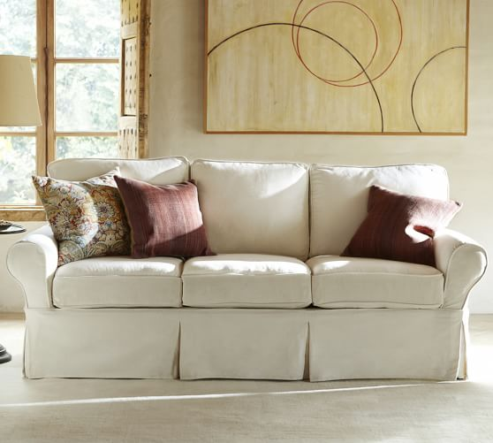 PB Basic Furniture Slipcovers | Pottery Ba