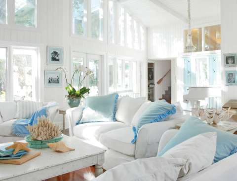 Slipcovered Furniture -Sofas & Chairs for Easy Coastal Style .