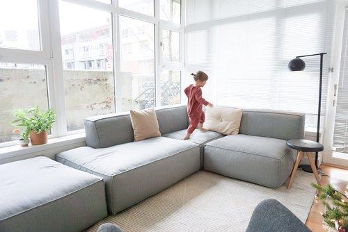 A Modular Sofa for Our Small Space — 600sqftandaba