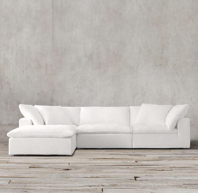 Cloud Modular Sofa Chaise Sectional | Modular sofa, Chaise sofa .