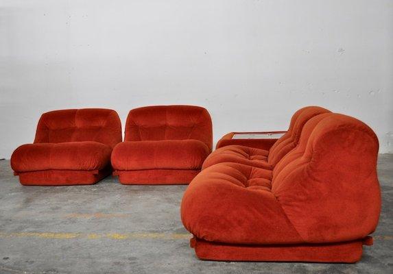 Italian Modular Sofa & Small Table by Maturi for Mimo, 1970s for .