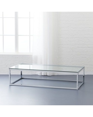 Check Out Some Sweet Savings on Smart glass top coffee table by C