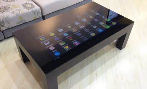 7.4LCT 4 Leg Capacitive Touchscreen Coffee Table | Smart table .