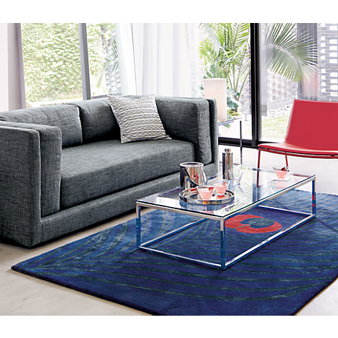smart glass top coffee table in accent tables | CB2 | Coffee table .