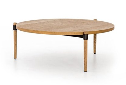 Smoked Oak Coffee Table | Living Spac