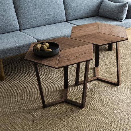 Kant Table - Light Smoked Oak by Collect Furniture | Coffee table .