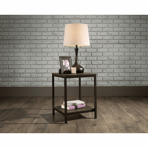 North Avenue Smoked Oak Side Table by Saud