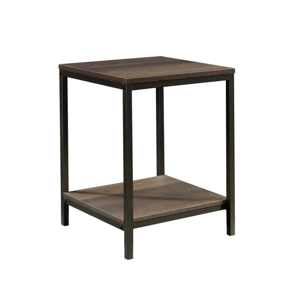 Sauder North Avenue Side Table, Smoked Oak Finish - Walmart.com .