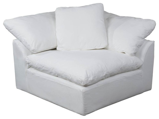 Sofa Sectional Modular Arm Chair Slipcover Performance Fabric .