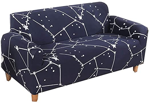 Amazon.com: HIKTY Stretch Sofa Cover Printed Sofa Chair Slipcovers .