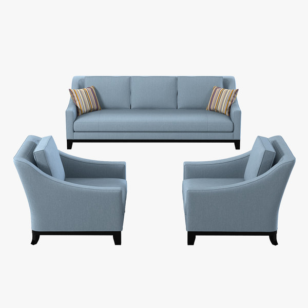 3d model baker neue sofa cha
