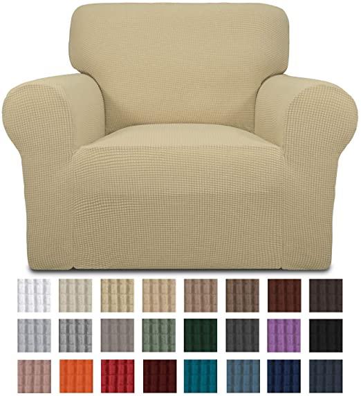 Amazon.com: Easy-Going Stretch Sofa Slipcover 1-PieceSofa Cover .